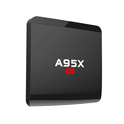 Android 7.1 TV Box Amlogic S905W Quad Core 1GB/8GB 64bit TV Box Support WiFi 2.4GHz HDMI 2.0 SPDIF H.265 4K Video 3D