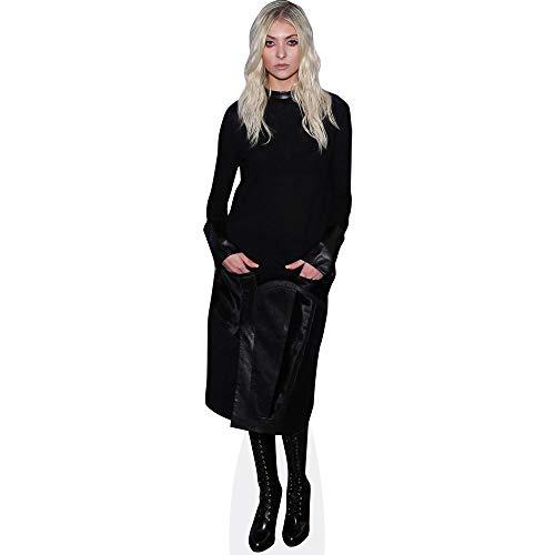 Celebrity Cutouts Taylor Momsen (Black Outfit) Pappaufsteller Mini