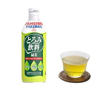 エバースマイル 介護食 とろみ飲料 緑茶 475g 6本セット 嚥下補助