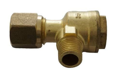 Rückschlagventil 1/4-10mm Ventil Druckleitung Kompressor Druckluft