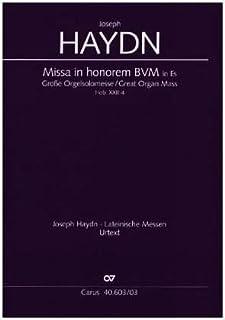 Haydn: Große Orgelsolomesse in Es (Hob. XXII:4). Klavierauszug