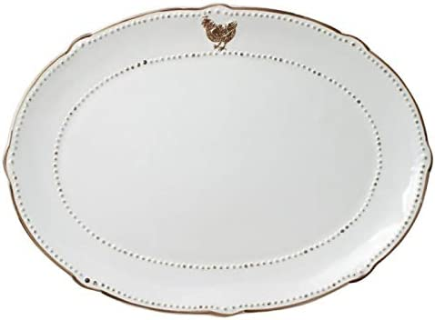 Pfaltzgraff Ranking TOP17 Farmhouse Hen Recommended Oval Platter
