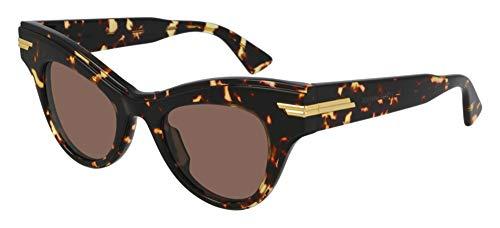 Bottega Veneta Gafas de Sol BV1004S Havana/Brown 47/22/145 mujer