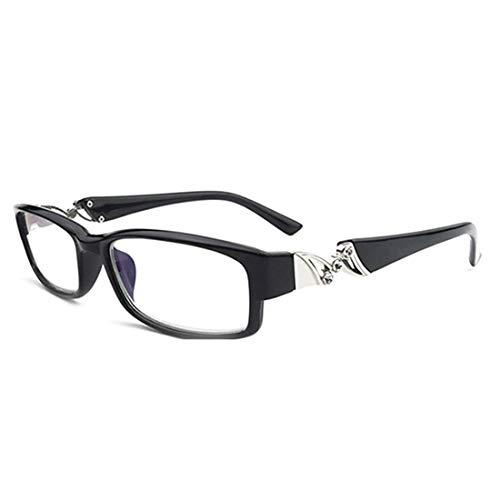 Aiweijia Unisex Lesebrille Vollbild Leicht Gemütlich Leser Brillen für Herren Damen