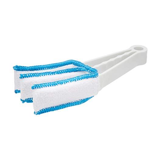Amazon Basics - Plumero, paquete individual, azul y blanco