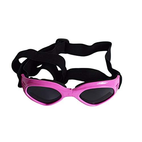 POPETPOP Pet Sonnenbrille Triangle Dog Cat Goggles Outdoor Brillenkopf Zubehör (Pink)