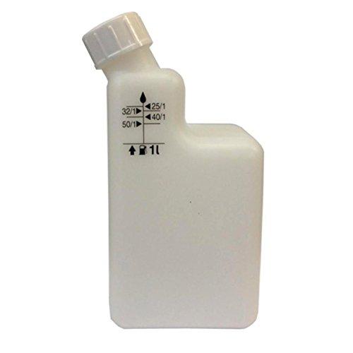 1 Liter 2-Takt-Mischflasche 40/125/132/150/1für Rasentrimmer / Motorsäge