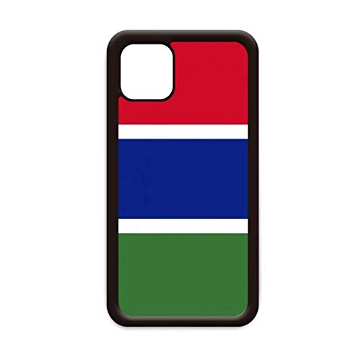 De Gambia Nationale Vlag Afrika Land voor Apple iPhone 11 Pro Max Cover Apple mobiele telefoonhoesje Shell, for iPhone11 Pro Max