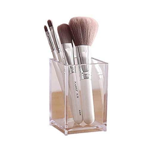 Categorías completas, básicos de oficina Titular de la pluma 1/2 Paquete Clear Lápiz PENDIERTE, Titular de los accesorios de escritorio, Organizador de almacenamiento de pinceles de maquillaje, Organi
