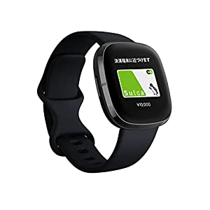 "Fitbit Sense Alexa搭載/GPS搭載 スマートウォッチ Carbon/Graphite カーボン/グラファイト L/S サイズ [日..."""
