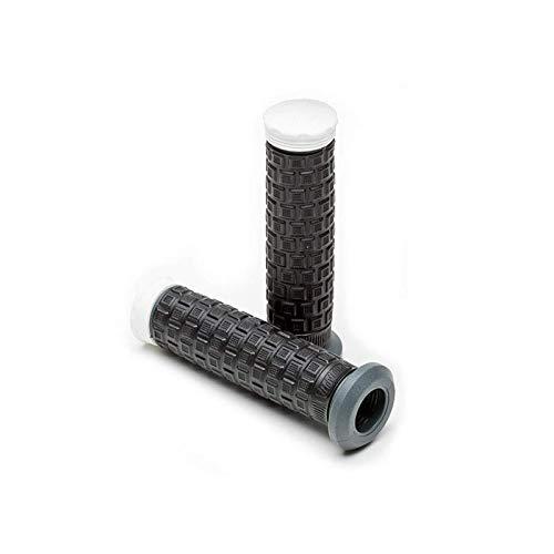 Pro Taper - Poignées De Guidon Quad Pillow Top Light sans Flanc Noir/Gris/Blanc 22 Mm