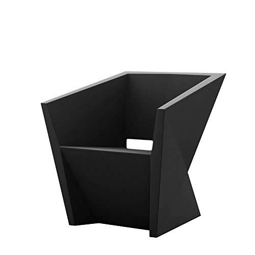 Vondom Faz Sillon petit fauteuil pour l'extérieur écru