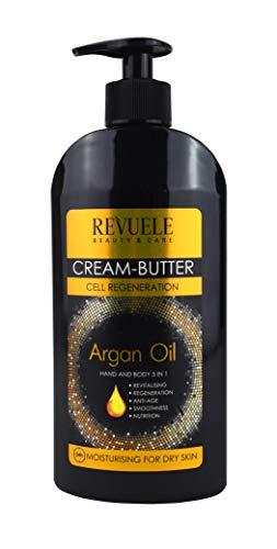 Revuele Crema de mantequilla Aceite de argán Hidratante