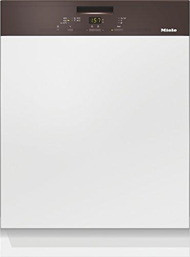 Miele G4910 SCi D HB230 2,1 Geschirrspüler Teilintegriert / A++ / 266 kWh/Jahr / 14 MGD / 2772 L/Jahr / Bequemes Be- und Entladen / Besteckschublade / havannabraun