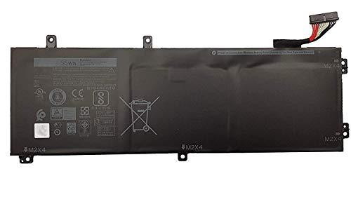 H5H20 5D91C 05041C 62MJV M7R96 Laptop Batterie Ersatz für Dell XPS 15 9550 9560 9570 7590 Precision 5510 5520 5530 5540 Inspiron 7590 7591 Series Notebook(11.1V 56Wh)