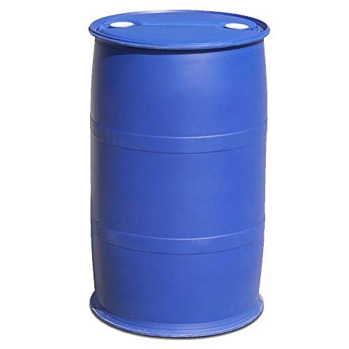 XBSD 53 Gallon Emergency Water Opslag Vat, Voorbereidheid Supply, Water Tank Drum Container, Herbruikbaar, BPA-vrij, Food Grade Plastic, voor Zoet Water Opslag en Regenwater.