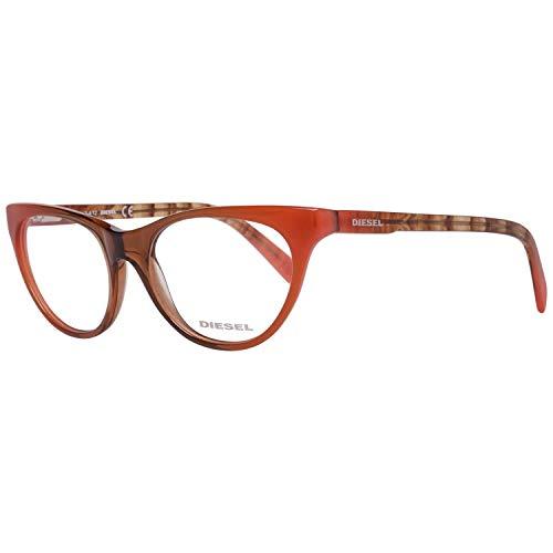 Diesel Brillengestelle DL5056 50074 Rechteckig Brillengestelle 50, Braun