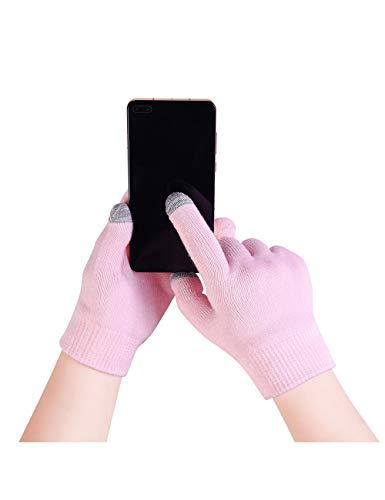 Donfri Guantes hidratantes de gel, guantes de algodón, máscara de manos con loción hidratante para manos secas y agrietadas, guantes de Beauty Spa para pantalla táctil