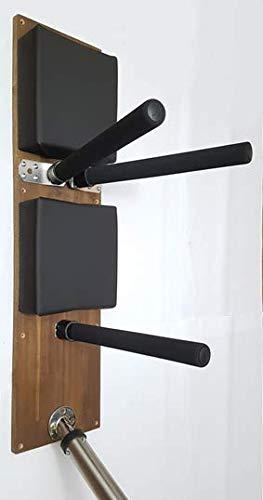 SmartMode Muñeca de Madera Wing Chun Kung Fu Alternativa/con Brazos y pie de Muelle.