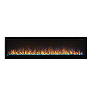 Napoleon Alluravision Slimline Linear Electric Fireplace (NEFL60CHS), 60-inch