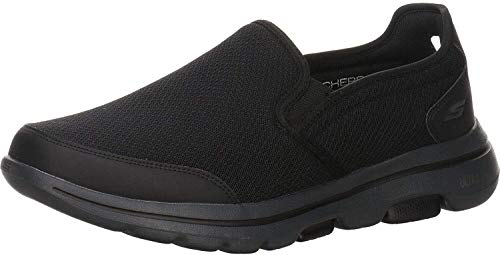 Skechers Herren Sneaker Go Walk 5-Delco Slipper schwarz Gr. 45