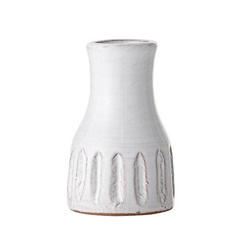 Bloomingville Terracotta Vase, weiß