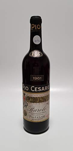 Vintage Bottle - Pio Cesare Barolo Clear Color 1961 0,72 lt. - COD. 1034