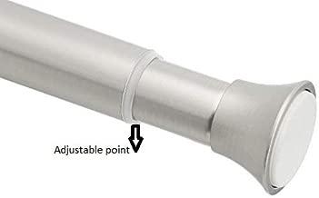 AmazonBasics Tension Shower Doorway Curtain Rod, 24-36