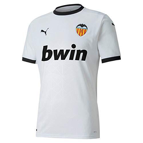 Puma VCF Home Shirt Replica Camiseta, Hombre, Puma White-Puma Black, M