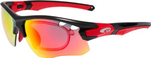 GOGGLE Radbrille Fahrradbrille mit Optik-Clip + Wechselscheiben