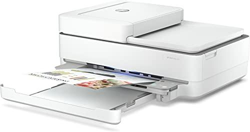 HP Envy 6420 - Impresora multifunción tinta, color, Wi-Fi, Bluetooth 5.0, compatible con Instant Ink (5SE45B)