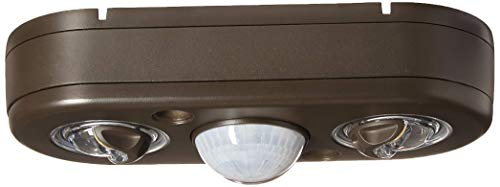 ALL-PRO Revolve LED Twin Head 180 Degree Motion Security Light 4 Pack