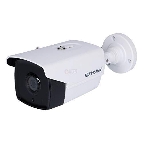 HIKVISION Cámara CCTV de 5 MP 4 en 1 40 m visión nocturna exterior IP67 UK (2,8 mm 40 m EXIR)