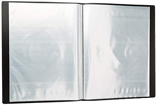 Viquel 546005-04 - Reliure - Protège document A3 - Porte vues A3 - 60 Vues - 30 pochettes - Noir