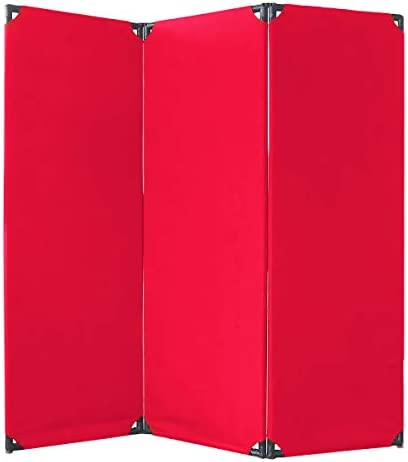 VERSARE 3-Panel Fabric Free shipping / New 360 Degree Hinges Purchase Rotating Privacy Screen