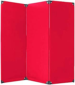 Amazon Com Versare Fp6 3 Panel Privacy Screen Furniture Decor