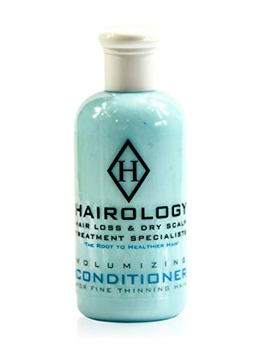 Hairology - Hair Loss Conditioner - Menthol Conditioner for Fine Thinning Hair.