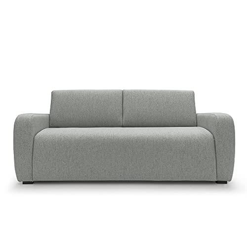 Duna - Sofá cama matrimonial de 2 plazas y 3 plazas de tela con colchón de 20 cm