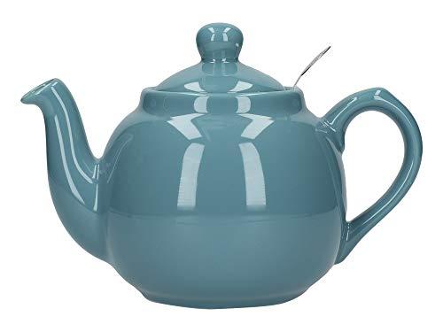 London Pottery - Tetera con infusor de cerámica (500 ml, 2 Tazas)
