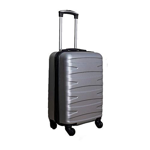"""Mala de Viagem de Bordo Carry On Cinza 18"""""""