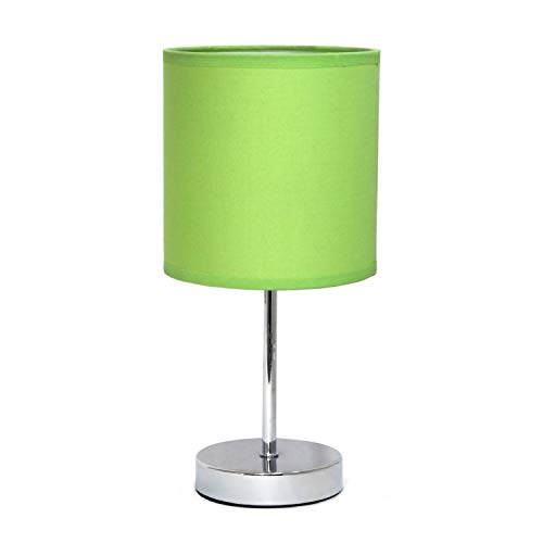 Simple Designs LT2007-GRN Table Lamp, Green