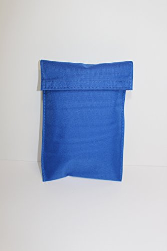 Respirator Bag (PRC BL) With Attached 2' Belt Loops - Holds Round Style Mouth Bit Mask