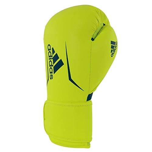 adidas Erwachsene Speed 100 - gelb/blau 8 oz; adSBG100 Boxhandschuhe