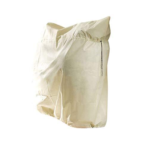 Funda protectora para plantas de invierno para plantas al aire libre, con cordón, bolsas de protección contra congelación, para árboles...