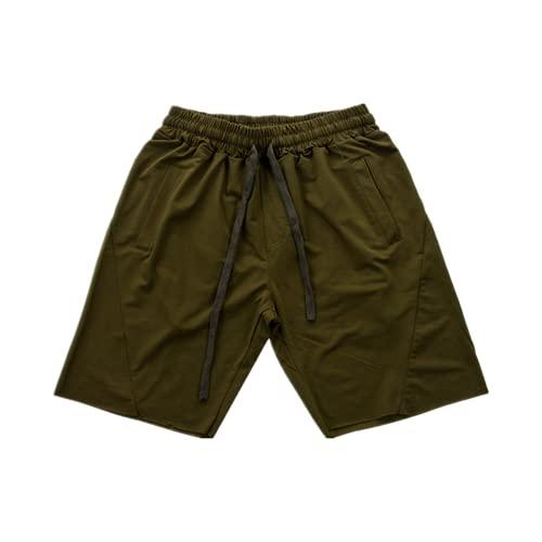 N\P Hombres Casual Pantalones Cortos Masculinos Verano Playa Cordón Confort Deportes Gimn