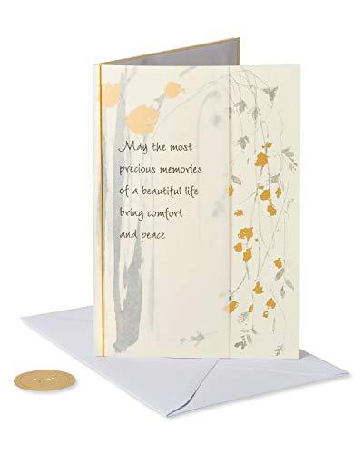 Papyrus Sympathy Card (Precious Memories)