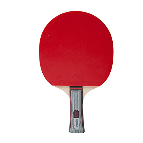 JOOLA Champ Table Tennis Paddle - Recreational Ping Pong Racket for Intermediate Players - More Speed & Control-Ping Pong Paddle with Flared Ergonomic Handle-Table Tennis Equipment for Adults & Kids