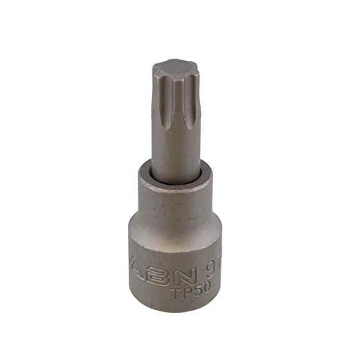ABN Torx Plus 50 TP50 Torx Socket, 3/8in Square Drive – for Automatic Transmission Front Bell Housing Bolts