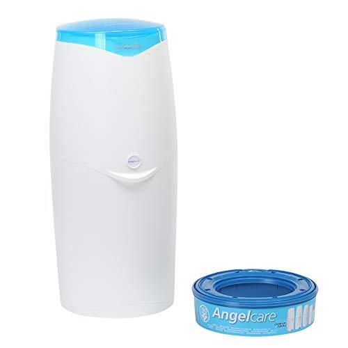 Foppapedretti Maialino Cubo para pañales, blanco-azul