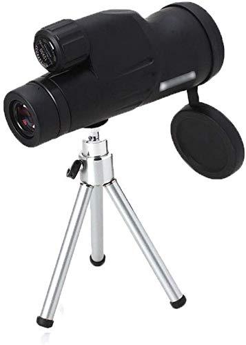 JJDSN Telescopio de localización Telescopios monoculares Alcance de localización HD Visión Nocturna con Poca luz Trípode de 15 cm Gratis Prisma BaK4 Revestimiento FMC Ocular Grande de 20 mm Lente
